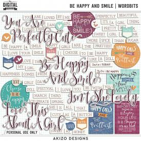 Be Happy And Smile   Wordbits
