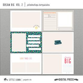 Dream Big | Photoshop Templates Vol. 2