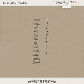 Date Stamps | Volume 3