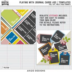 Playing With Journal Cards 03 | Templates