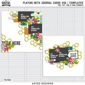 Playing With Journal Cards 04 | Templates