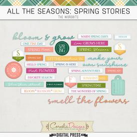 ALL THE SEASONS: SPRING STORIES | WORDBITS
