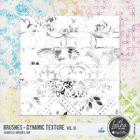 Dynamic Texture Brushes Vol. 01 (CU)