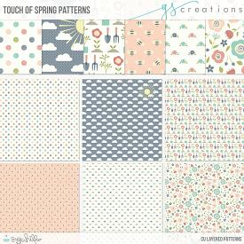 Touch of Spring Layered Patterns (CU)