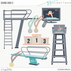 Diving High 2 Layered Templates (CU)