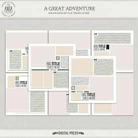 A great adventure | Templates 01
