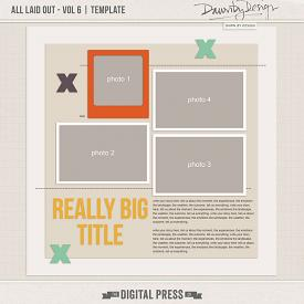All Laid Out - Vol 6 | Template