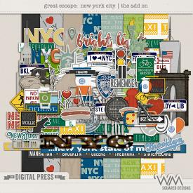 Great Escape:  New York City | Add On Kit