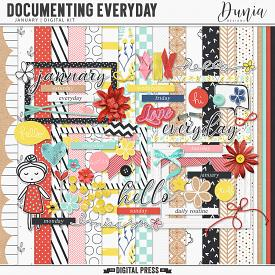 Documenting Everyday | January - Kit
