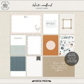 Winter Woodland | Pocket Cards