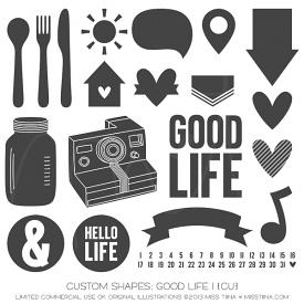 Good Life 1 Shapes (CU)