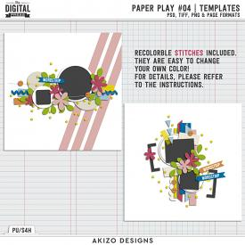 Paper Play 04 | Templates