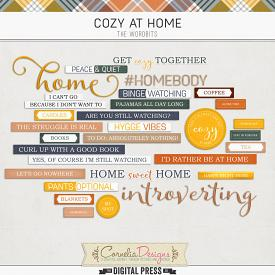 COZY AT HOME | WORDBITS