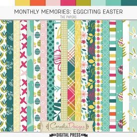 MONTHLY MEMORIES: EGGCITING EASTER| PAPERS