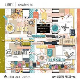 Artiste | Scrapbook Kit