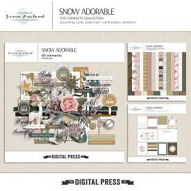 Snow adorable - bundle