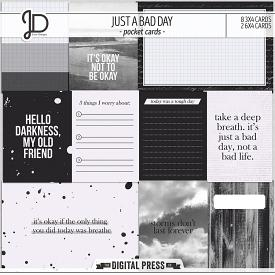 Just A Bad Day | Pocket Cards