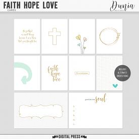 Faith Hope Love | Cards