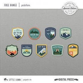 Free Range | Add On Badges