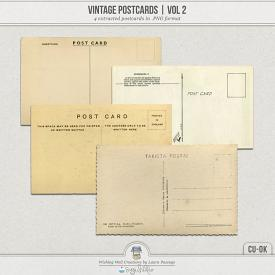 Vintage Postcards Volume 2 (CU)
