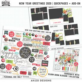 New Year Greetings 2020 | Quickpages + Add-on