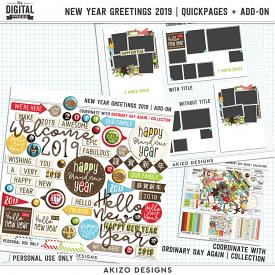 New Year Greetings 2019 | Quickpages + Add-on