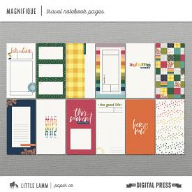 Magnifique | Travel Notebook Pages