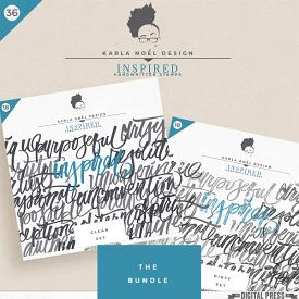 Scripted : Inspired | stamps | bundle