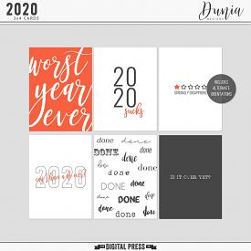 2020 | 3x4 Cards