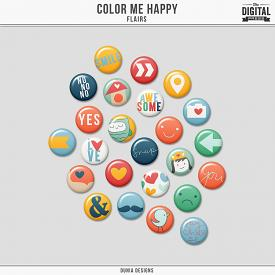 Color Me Happy - Flairs