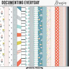 Documenting Everyday | April - Papers
