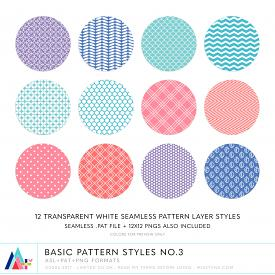 Basic Pattern Styles No.3 (CU)