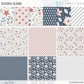 Seasonal Blooms Layered Patterns (CU)