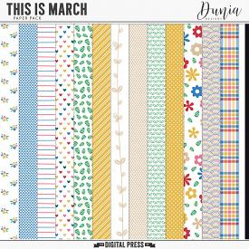 This is March | Papers