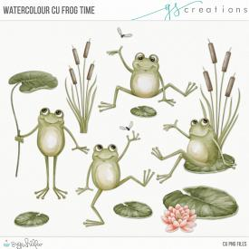 Frog Time Watercolour (CU)