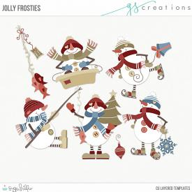 Jolly Frosties Layered Templates (CU)