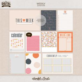 Weekly | Journal Cards