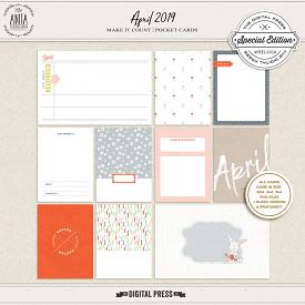 Make it count: April 2019 | pocket cards