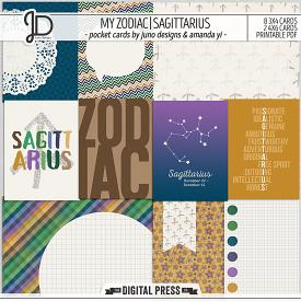 My Zodiac | Sagittarius - Pocket Cards