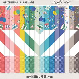 Happy Birthday | Add-On Papers