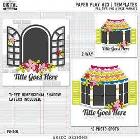 Paper Play 23 | Templates