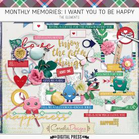 MONTHLY MEMORIES: I WANT YOU TO BE HAPPY| ELEMENTS