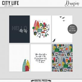 City Life | 3x4 Cards