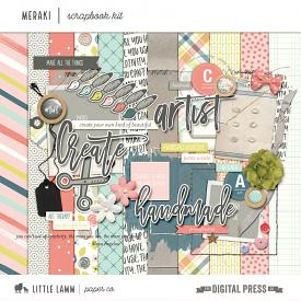 Meraki | Scrapbook Kit