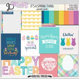 It's a Spring Thing | Pocket Cards