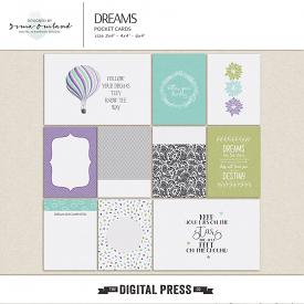 Dreams - journaling cards