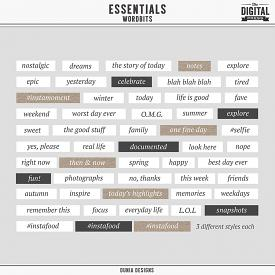 Essentials | Word Bits