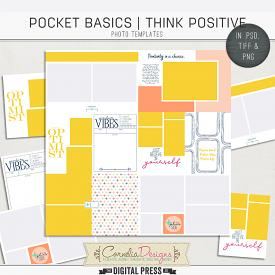 POCKET BASICS: THINK POSITIVE | PHOTO TEMPLATES