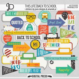 This Life | Back To School - Stickers