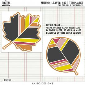 Autumn Leaves 03 | Templates